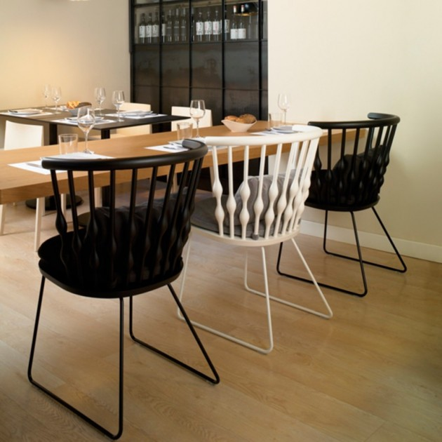 comedor con Sillas Nub SO1435 Andreu World