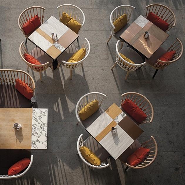 comedor con colección sillones Nub SO1434 Andreu World