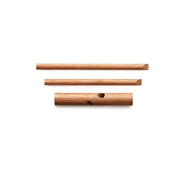 material perchero stick hook color nature de Normann copenhagen