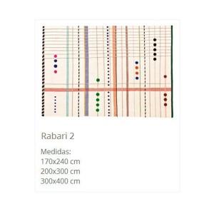 dimensiones alfombra Rabari 2