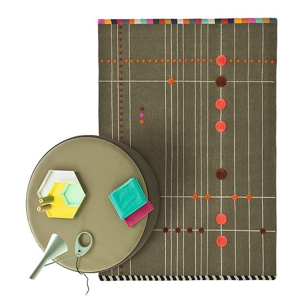 ambiente alfombra Rabari 4 diseño Nanimarquina