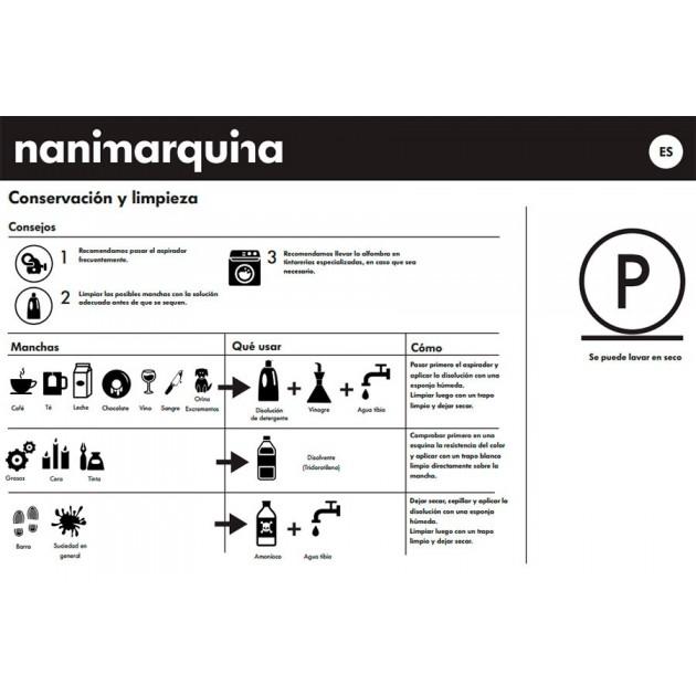 cuidados Alfombra Digit 1 Nanimarquina