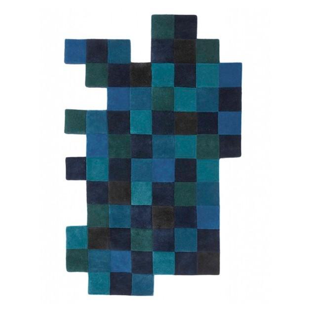Alfombra Do Lo Rez 1 azul Nanimarquina