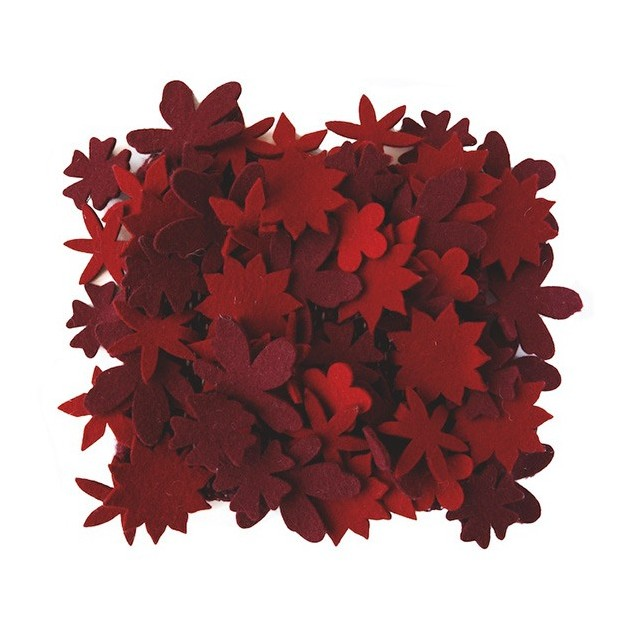 Alfombra roja Little field of flowers Nanimarquina