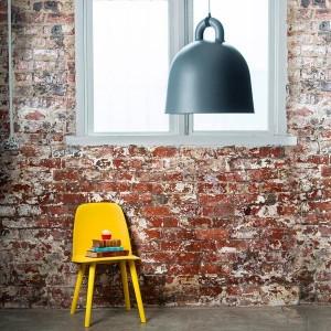 ambiente Lámpara de suspensión Bell grande color gris de Normann copenhagen