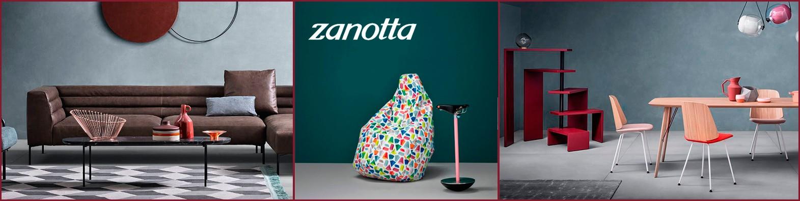 Zanotta, firma de mobiliario italiana con diseños elegantes y sofisticados para añadir a tu hogar.